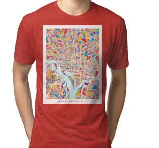 Washington dc street map photographic prints by michael for T shirts printing washington dc