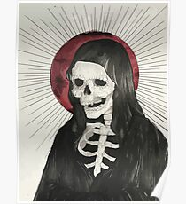 Grim Reaper Drawing Posters Redbubble