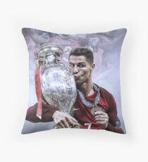 Portugal Euro 2016 Winners Throw Pillow