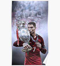 Póster Ganadores de Portugal Euro 2016