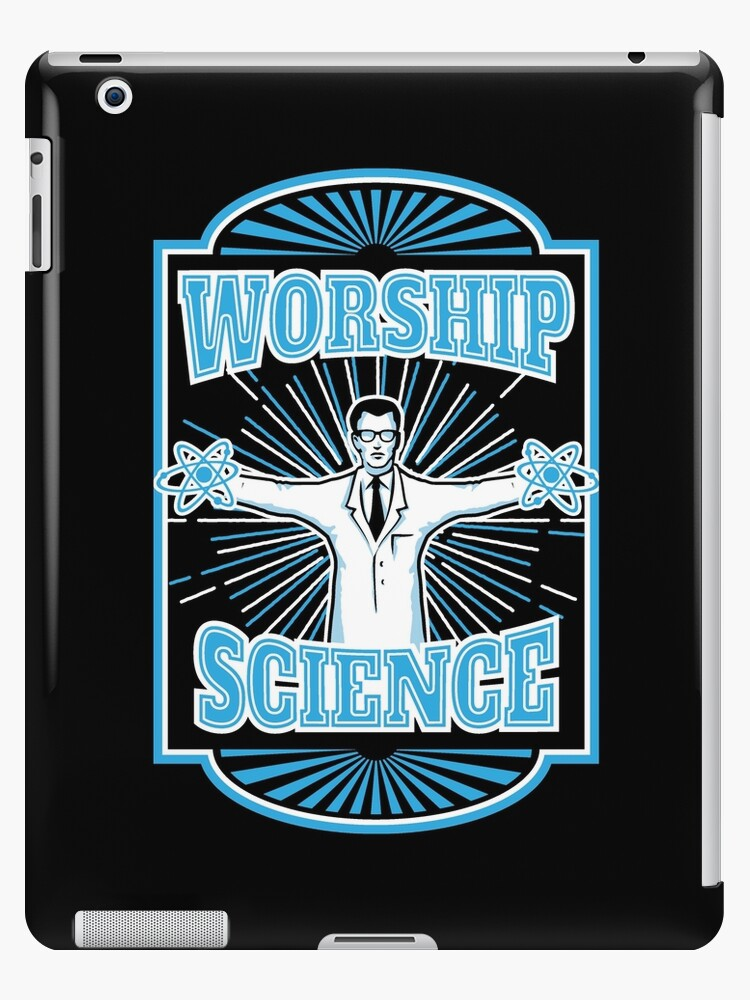 "Science Worship Geeky Atheism"" iPad Case & Skin by TropicalToad 
