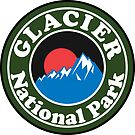 GLACIER NATIONAL PARK MONTANA HIKING CAMPING HIKE CAMP by MyHandmadeSigns