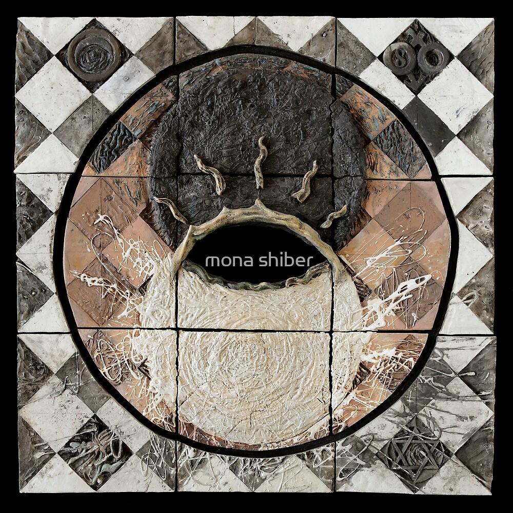 Hatha: union of sun moon by Mona Shiber