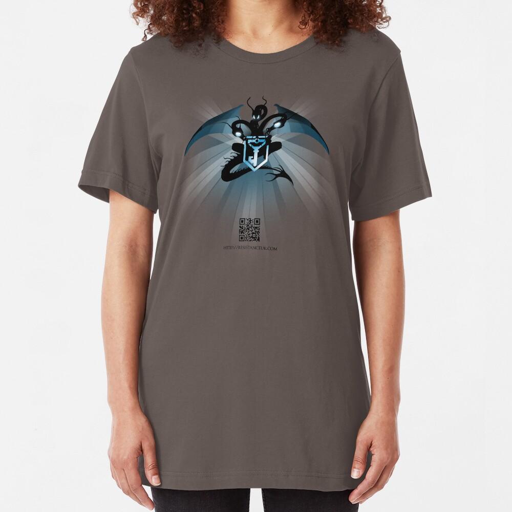Ingress : Resistance UK Dragon Slim Fit T-Shirt