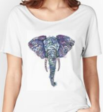 Safari Elephant Women's Relaxed Fit T-Shirt