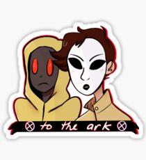we dem spooky boiz Sticker