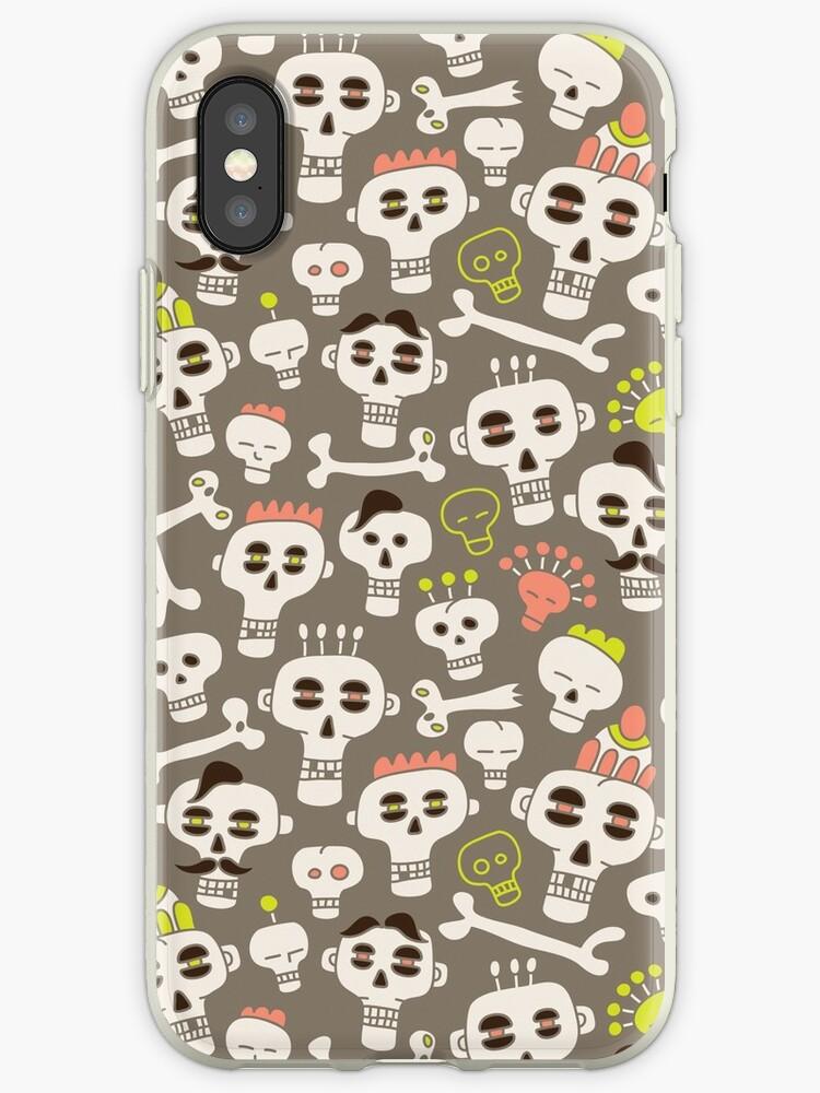 Skull Pattern by Olya-Yang