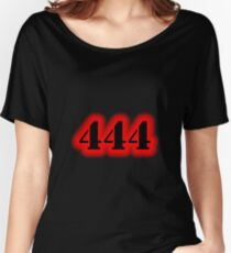 Angel Number 444 Women's Relaxed Fit T-Shirt