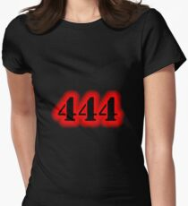 Angel Number 444 Women's Fitted T-Shirt