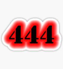 Angel Number 444 Sticker
