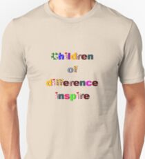 Children of difference inspire Unisex T-Shirt