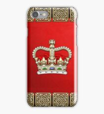 St. Edward's Crown - British Royal Crown  iPhone Case/Skin