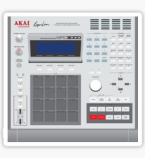 AKAI MPC 3000 Sticker