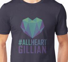 #AllHeartGillian - Blue Unisex T-Shirt