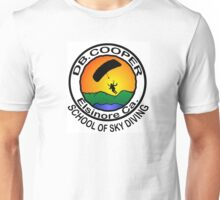 DB. COOPER SCHOOL OF SKYDIVING Unisex T-Shirt