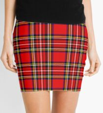 Punky Red Mini Skirt