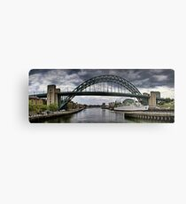 Newcastle Upon Tyne Metal Print
