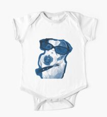Rocking Jack Russell One Piece - Short Sleeve