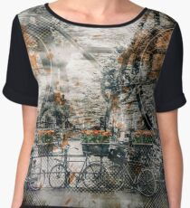 City-Art AMSTERDAM Bicycles  Women's Chiffon Top