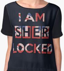 I Am Sherlocked Chiffon Top