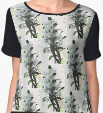 Orchid Blooms Women's Chiffon Top