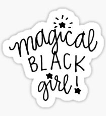 Magical Black Girl Sticker