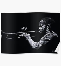 Contemporary Jazz Trumpeter Poster