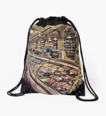 Harrods Drawstring Bag