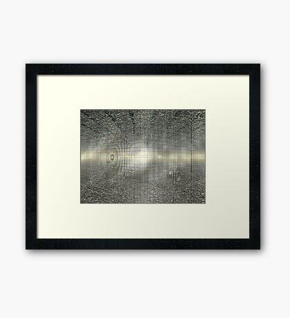 Finis Terra Framed Print