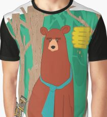 modern bear Graphic T-Shirt