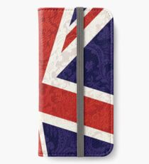 Flying Union Jack iPhone Wallet/Case/Skin