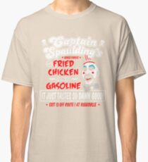 Captain Spaulding Fried Chicken & Gasoline Classic T-Shirt