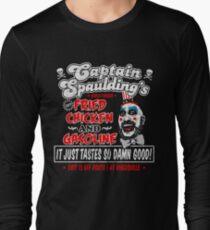Captain Spaulding Fried Chicken & Gasoline Long Sleeve T-Shirt