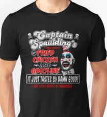 Captain Spaulding Fried Chicken & Gasoline Unisex T-Shirt