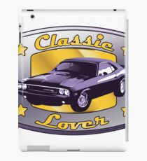 Classic Lover - Classic cars iPad Case/Skin