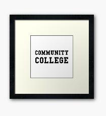 Community College Framed Print