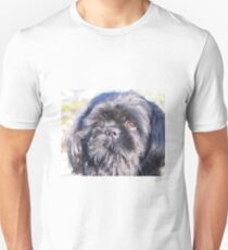 Cute shih tzu head Unisex T-Shirt