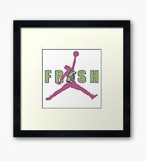 Fresh Prince Jumpman Framed Print