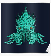 Cthulhu Graphic Poster