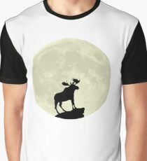 Midnight Moose Graphic T-Shirt