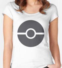 Pokéball minimalist Women's Fitted Scoop T-Shirt