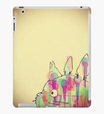 Ink Totoro iPad Case/Skin