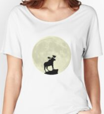 Midnight Moose Women's Relaxed Fit T-Shirt