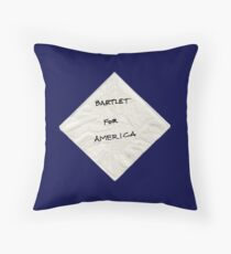 President Bartlet's Campaign Starter! Throw Pillow