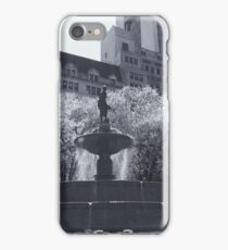 Plaza Fountain iPhone Case/Skin