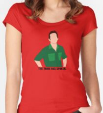 Jeff Probst 3 Women's Fitted Scoop T-Shirt