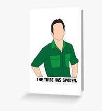 Jeff Probst 3 Greeting Card