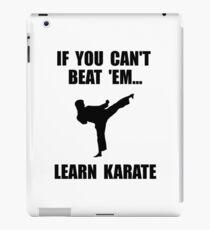 Learn Karate iPad Case/Skin