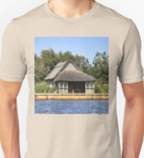 Horsey mere thatched cottage T-Shirt