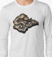 Dust 2 Isometric CSGO Map Long Sleeve T-Shirt